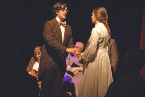George and Emily on stage - Our Town - Park Players Detroit